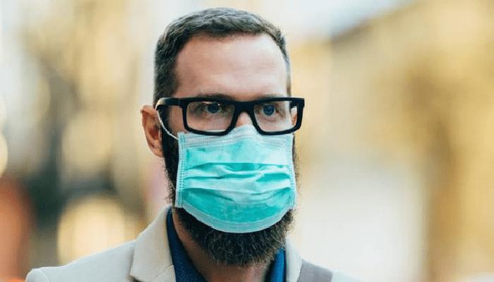 mascherina Coronavirus occhiali appannati